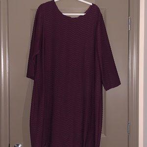 Calvin Klein Three Quarter Sleeve Dress